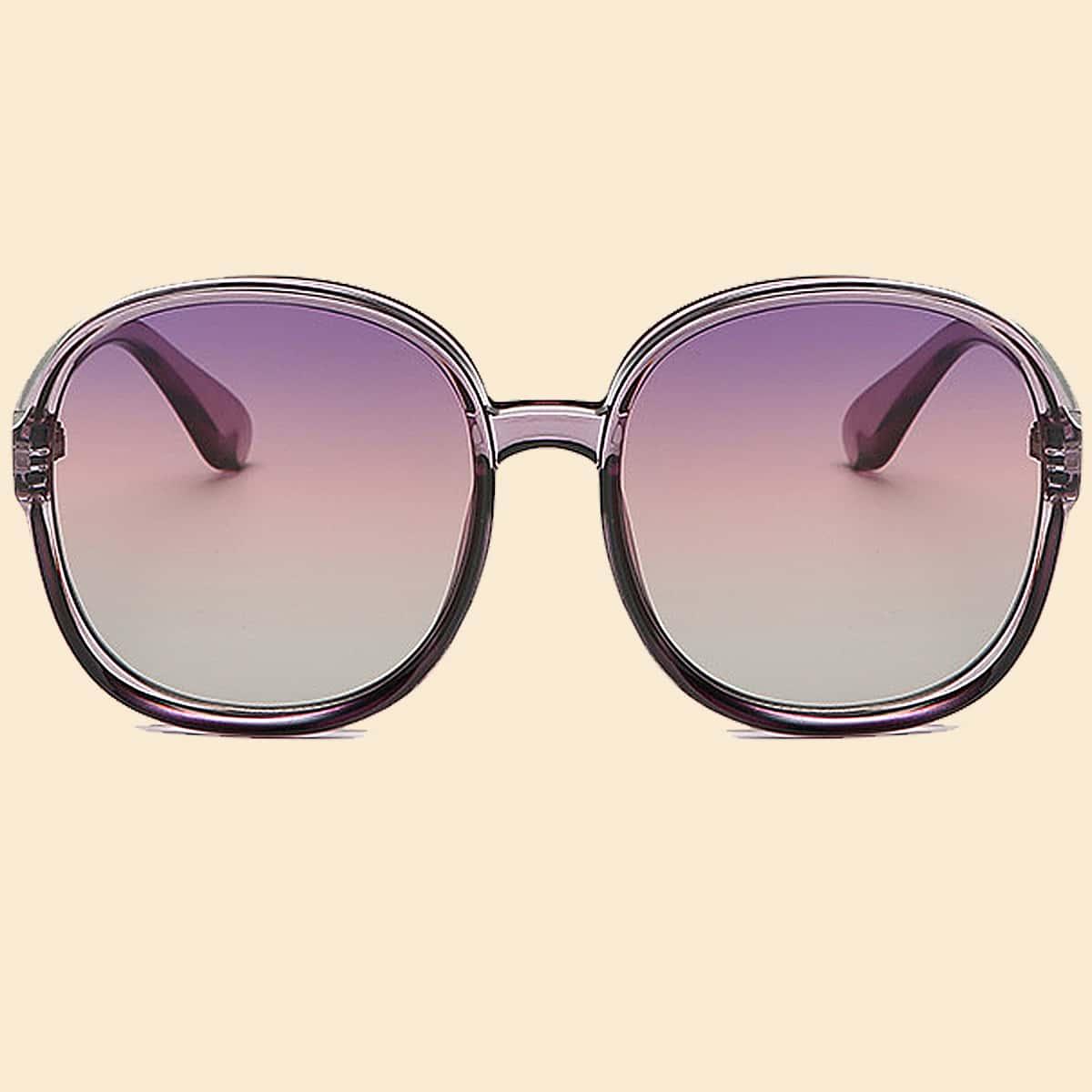 Градиентные солнечные очки для девочек фото