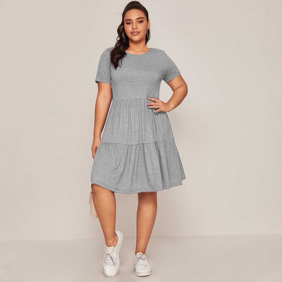 Модное платье размера плюс фото