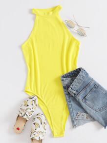 Halter   Yellow   Neon