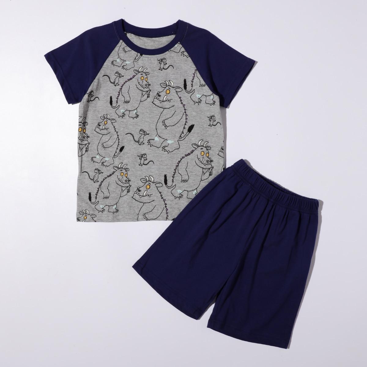 Пижама с мультипликационным принтом для мальчиков фото