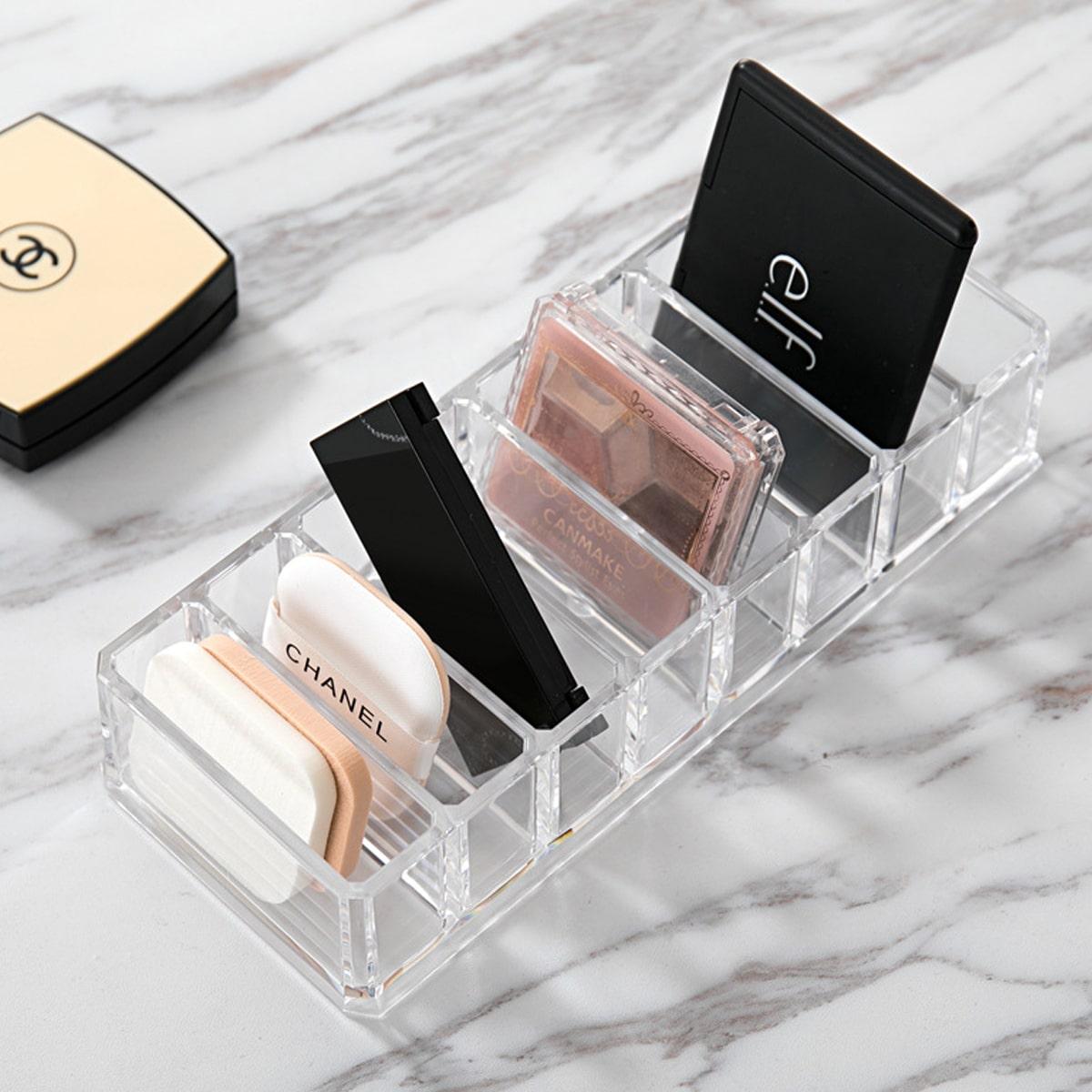 Прозрачная косметическая коробка для хранения фото