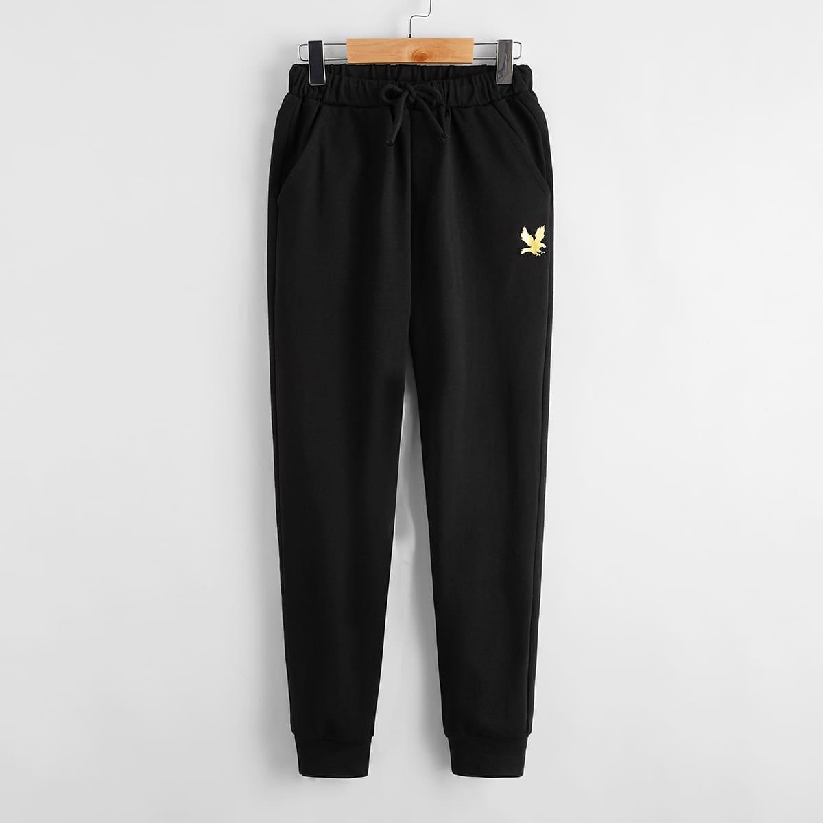 Спортивные брюки для мальчиков от SHEIN