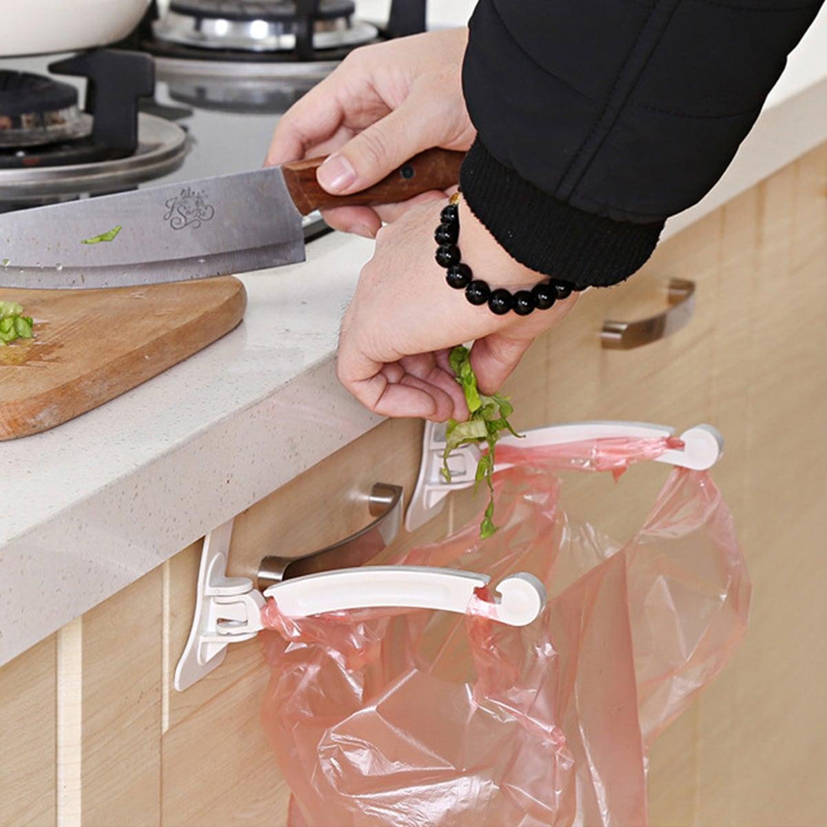 SHEIN / 2pcs Hanging Garbage Bag Rack