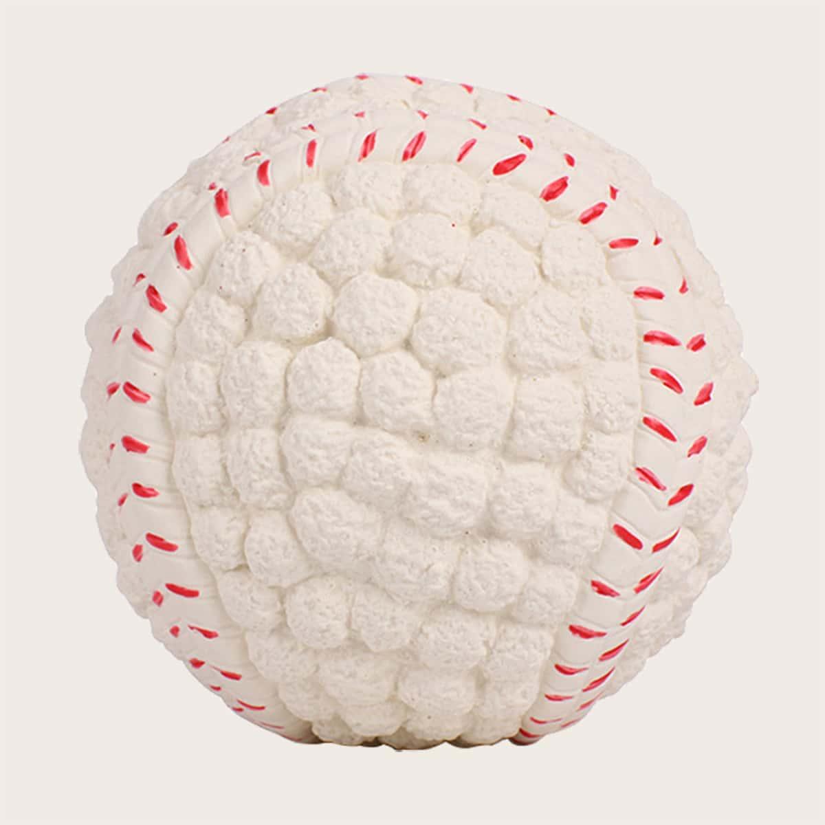 1шт латексный бейсбол для собак