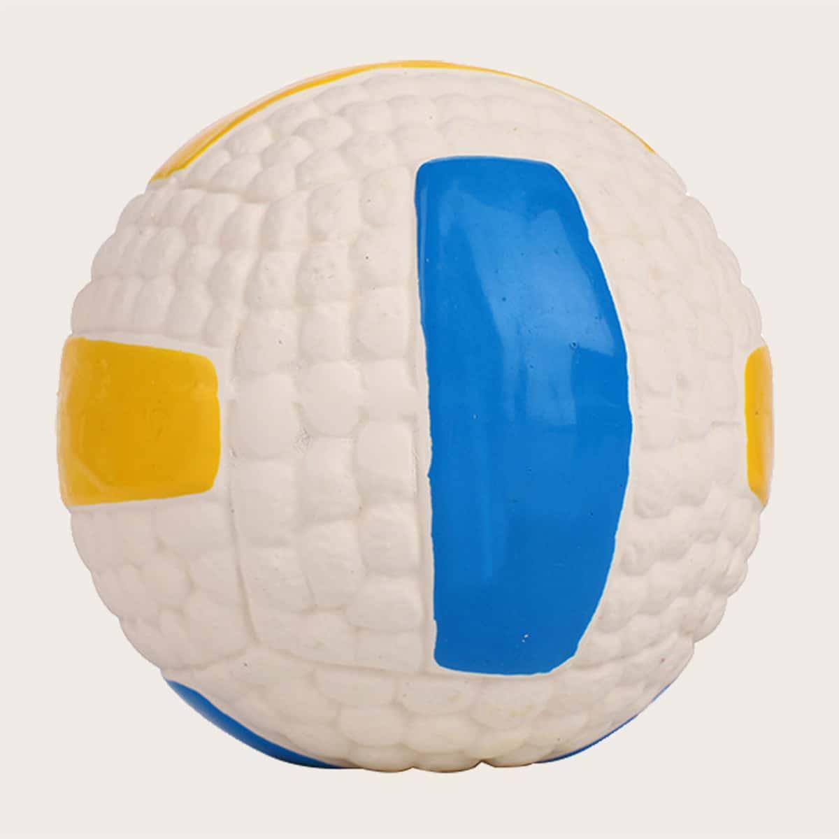 1шт латексный волейбол для собак