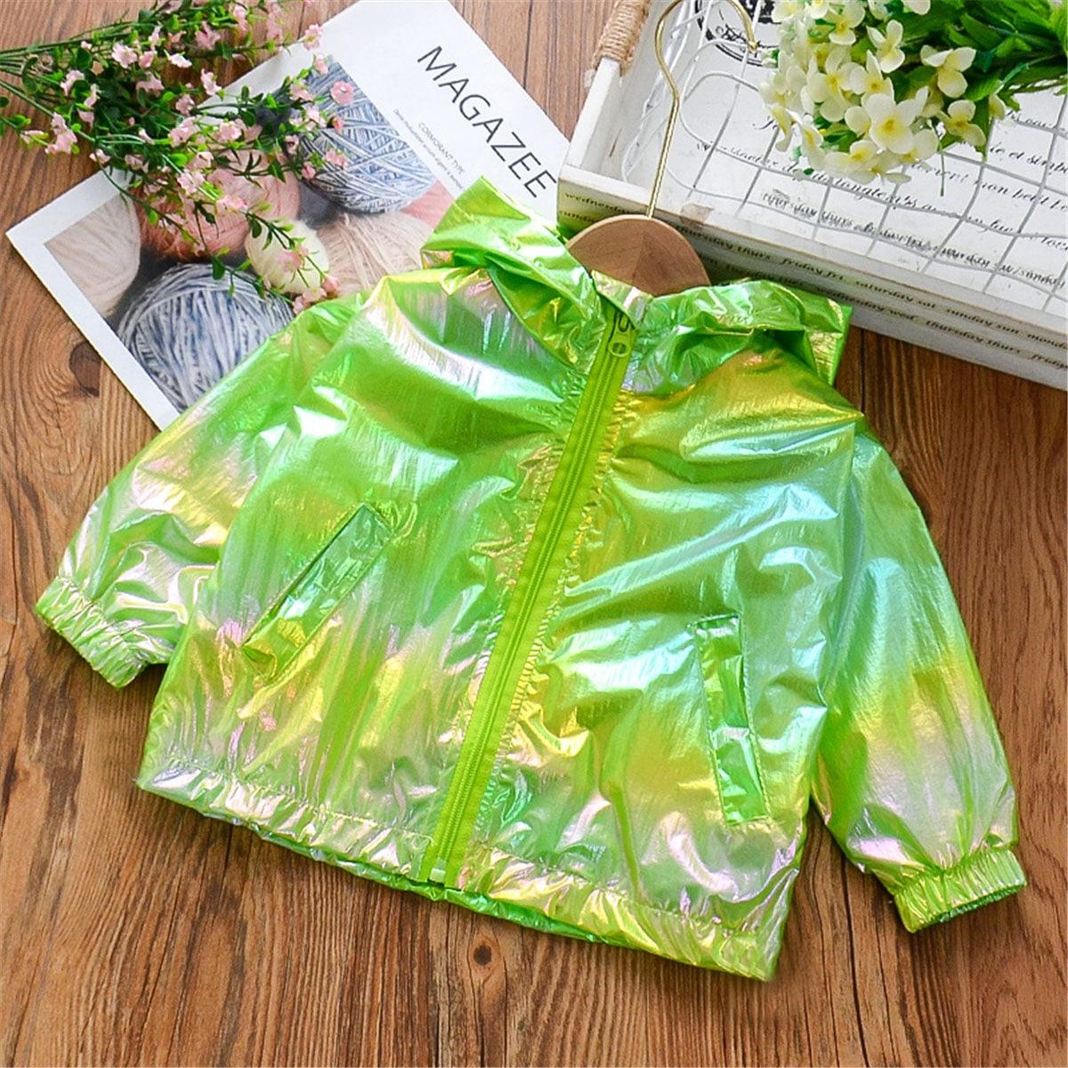 Солнцезащитная куртка с капюшоном для девочек от SHEIN