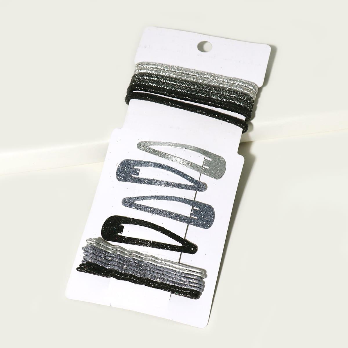 Блестящий аксессуар для волос для девочек 18шт фото