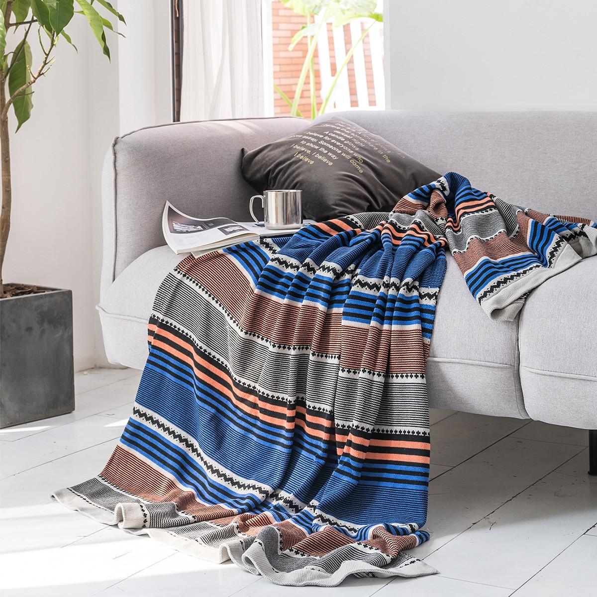 Striped Pattern Blanket