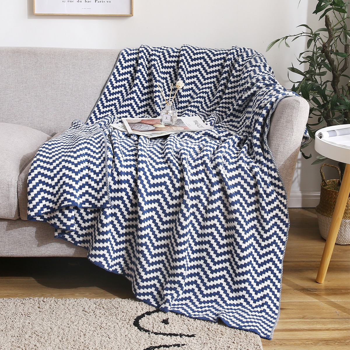 Chevron Pattern Blanket