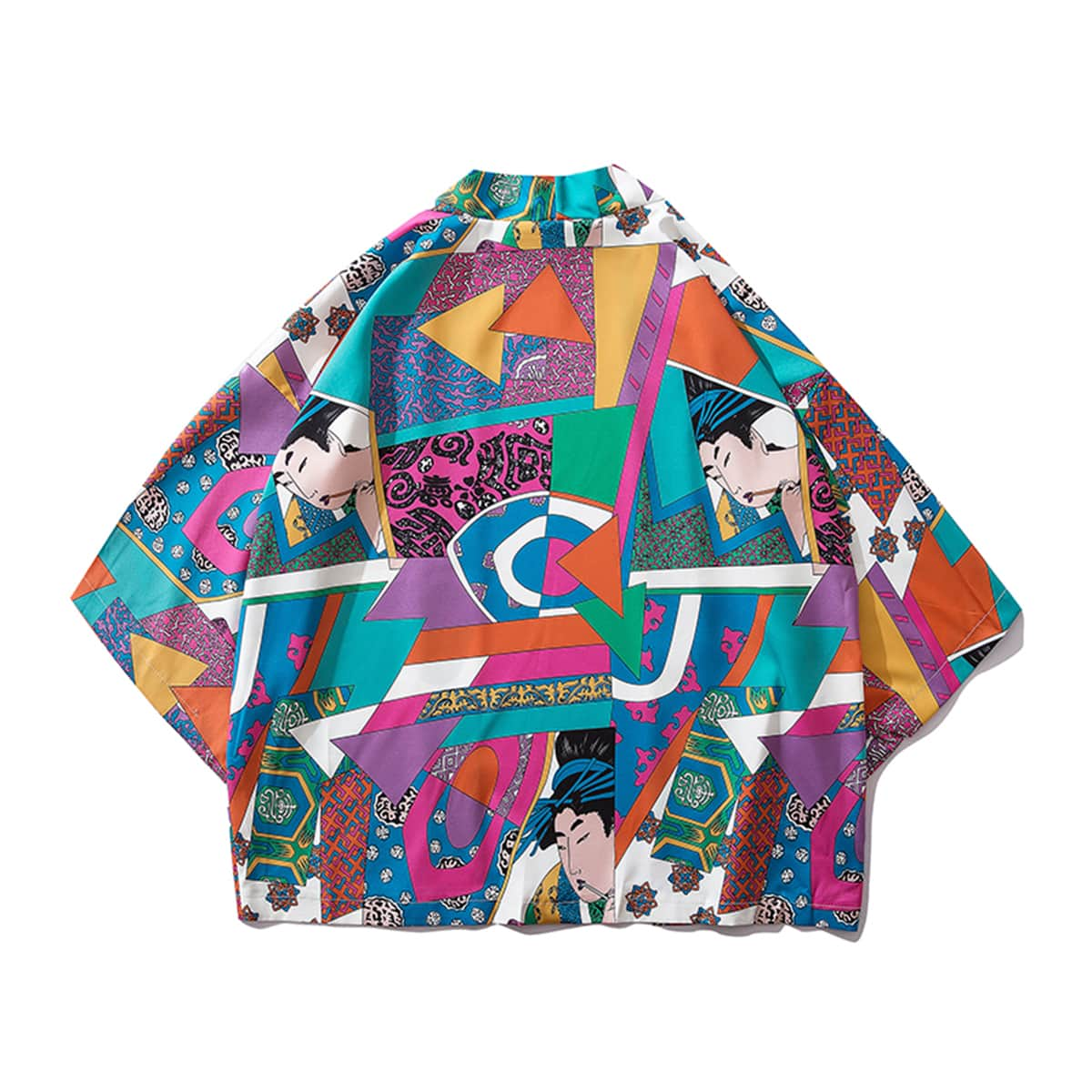 SHEIN / Camisas  para hombre retazo Multicolor Vacación