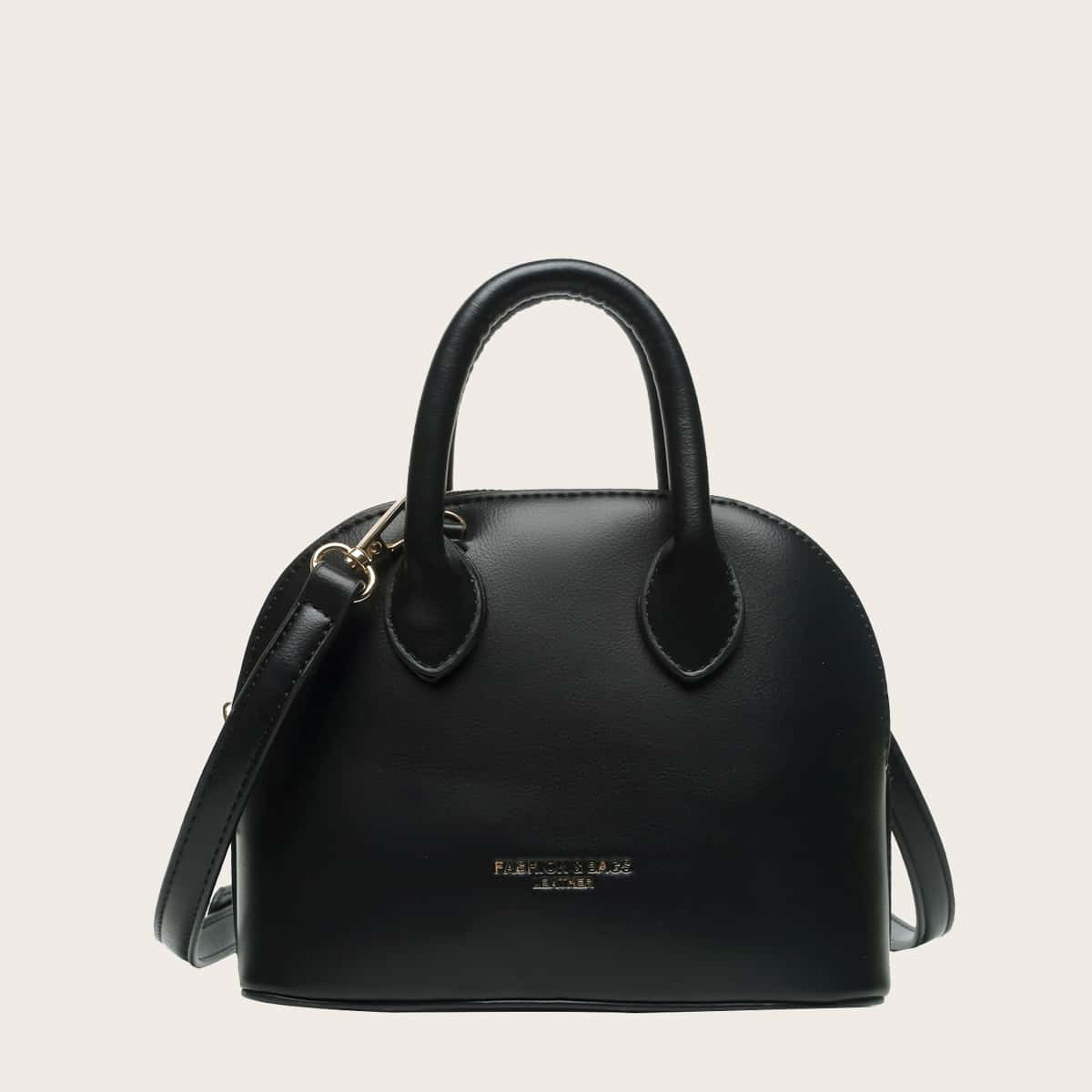 SHEIN / Minimalist Dome Bag With Double Handle