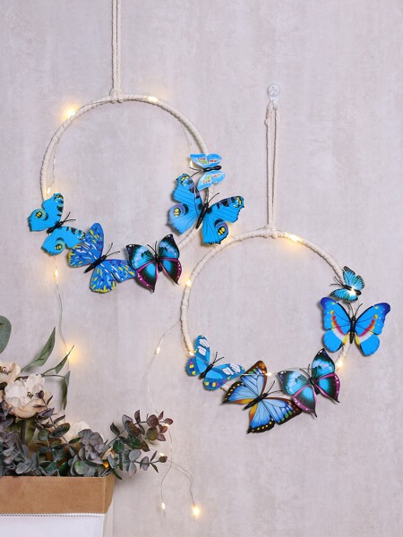 1pc Butterfly Decor Hanging Decor