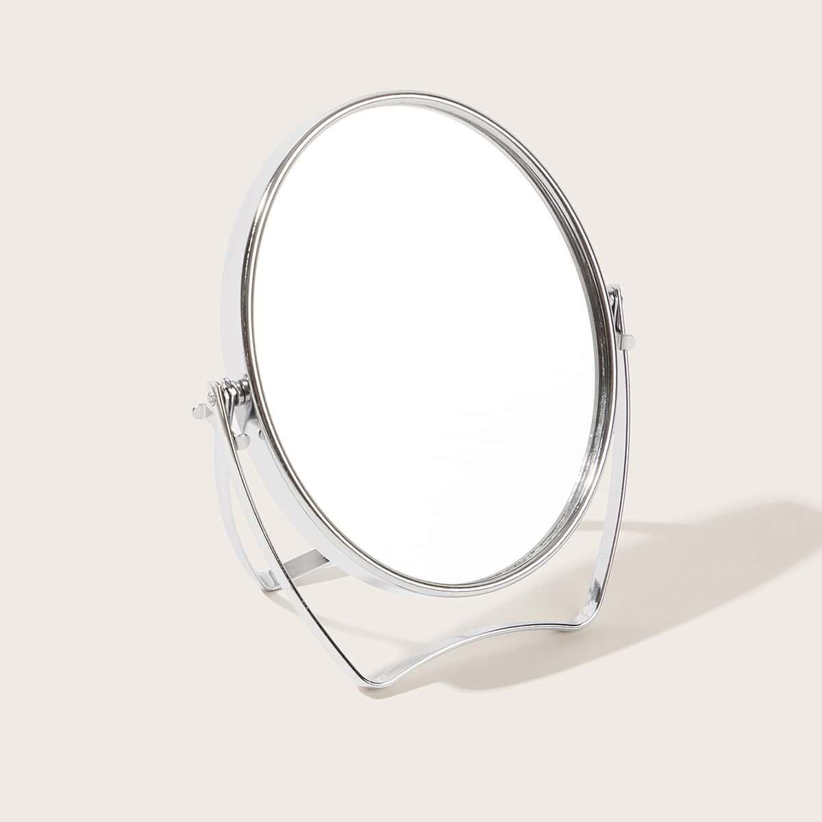 1шт круглое настольное зеркало фото