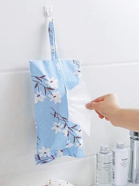 1pc Hanging Tissue Storage Bag