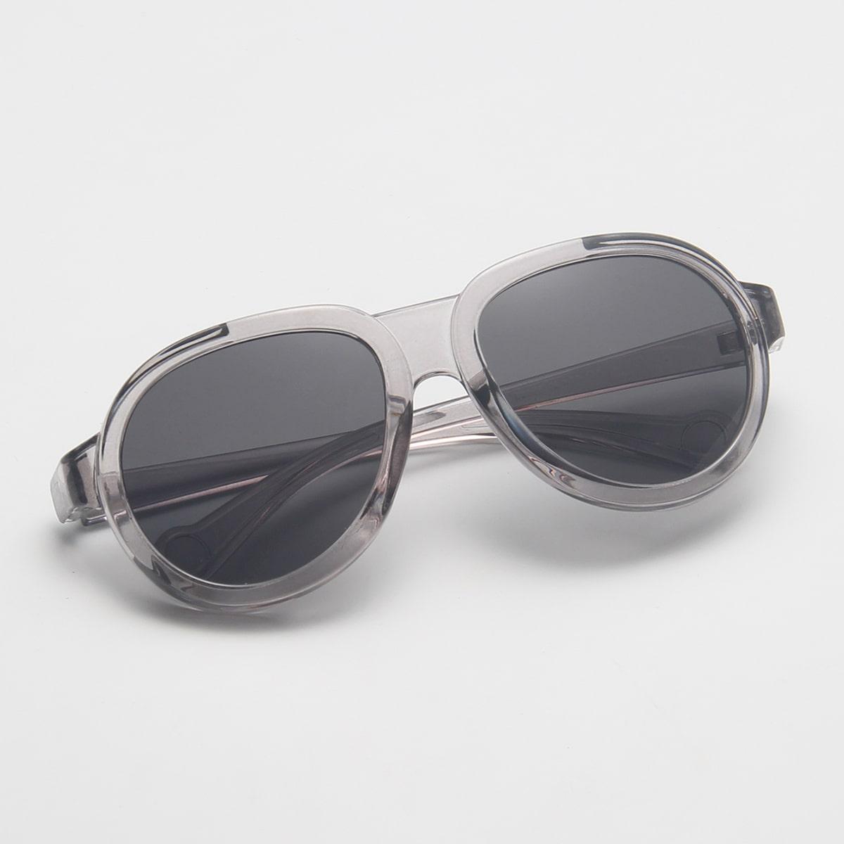 Круглые солнечные очки фото
