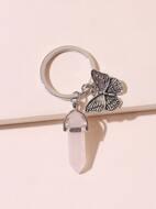 Butterfly Charm Keychain