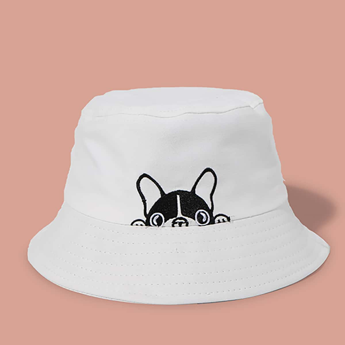 Мужская шляпа с мультипликационным принтом от SHEIN