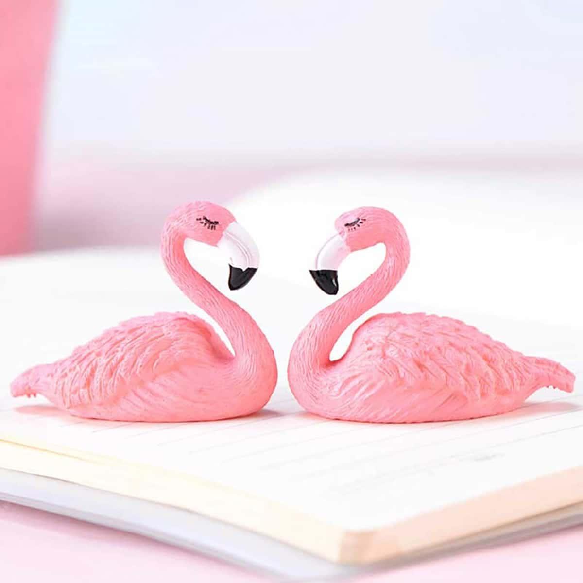 1шт украшение в форме фламинго