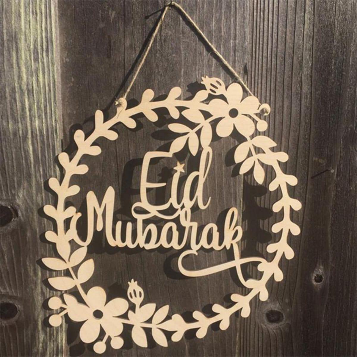 SHEIN / 5 Stücke Eid Al Adha Türhänger