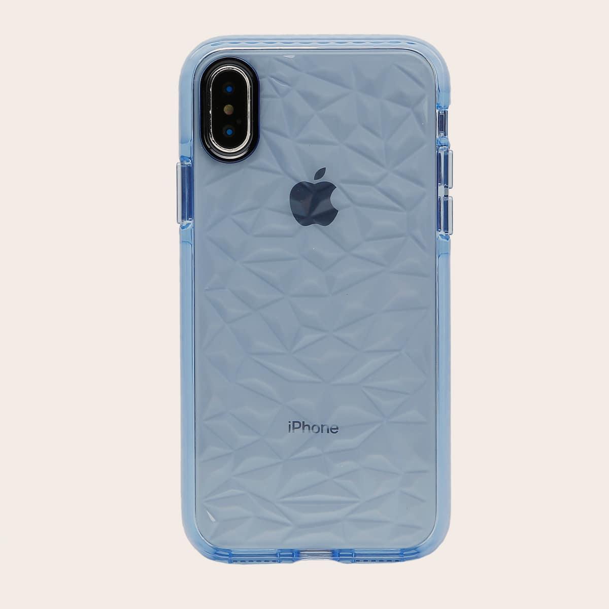 Чехол для iPhone с ромбовидным узором 1шт фото
