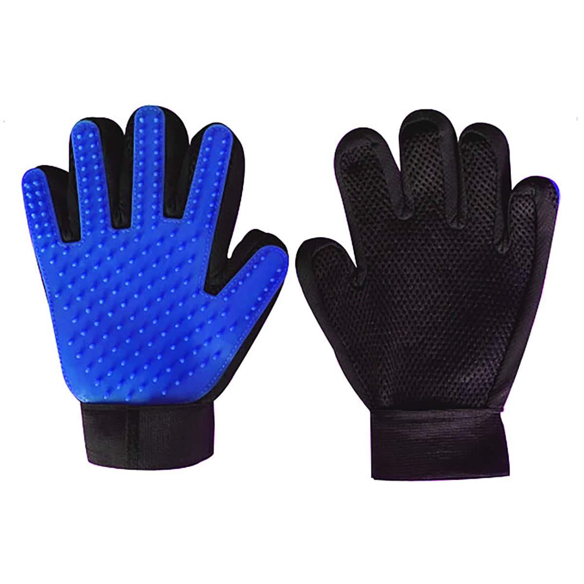Массажная перчатка для груминга собак 1шт