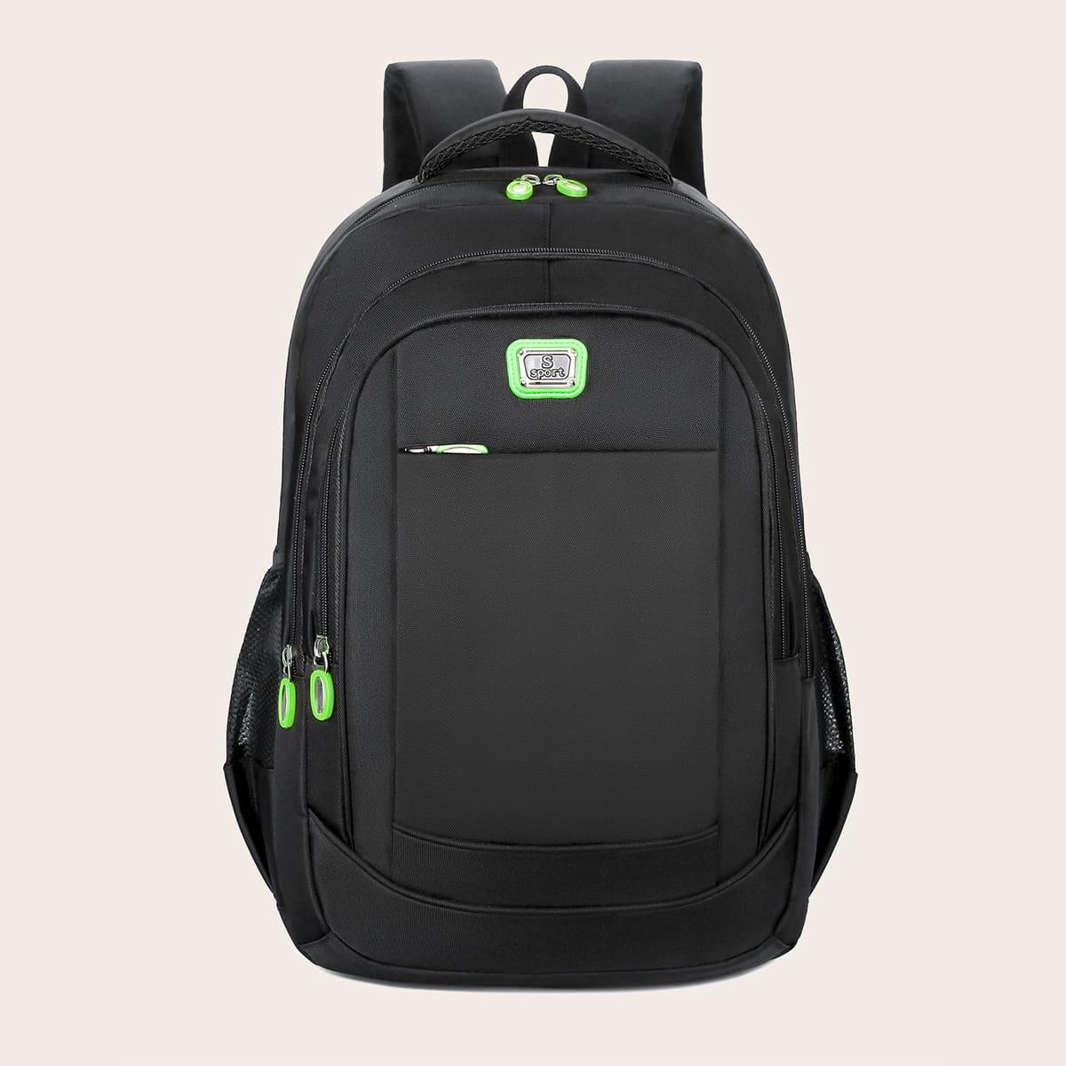 Рюкзак большой емкости на молнии фото