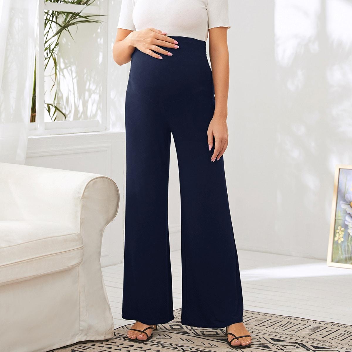 Широкие брюки для беременных от SHEIN