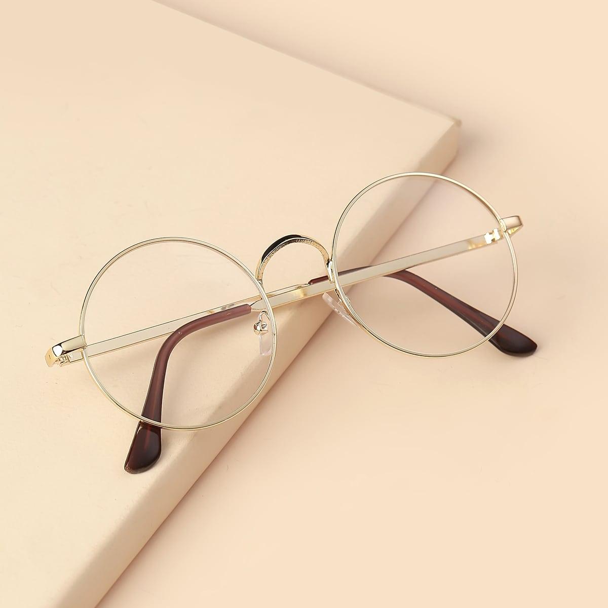 Круглые очки фото