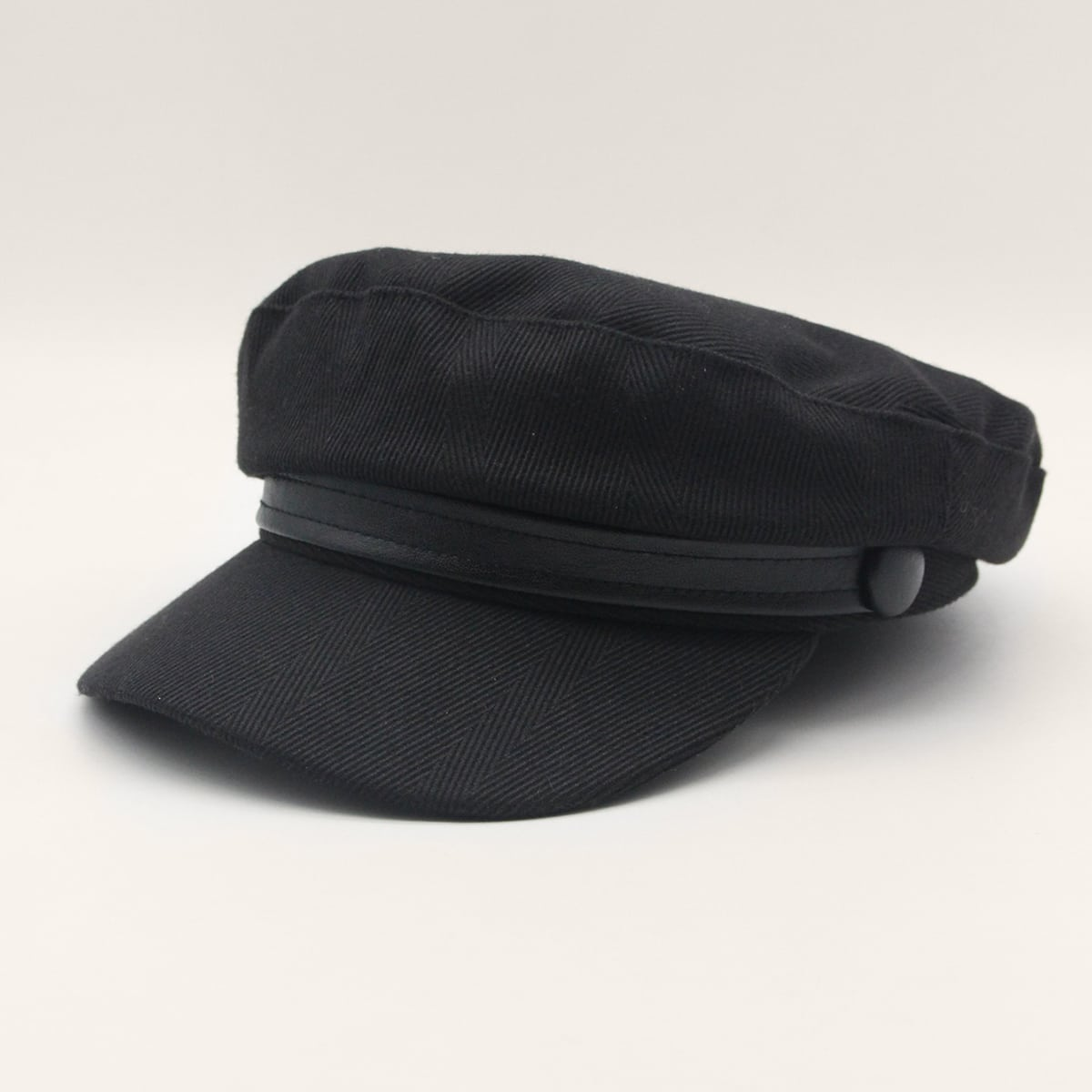 Однотонная бейкер шляпа для мальчиков от SHEIN