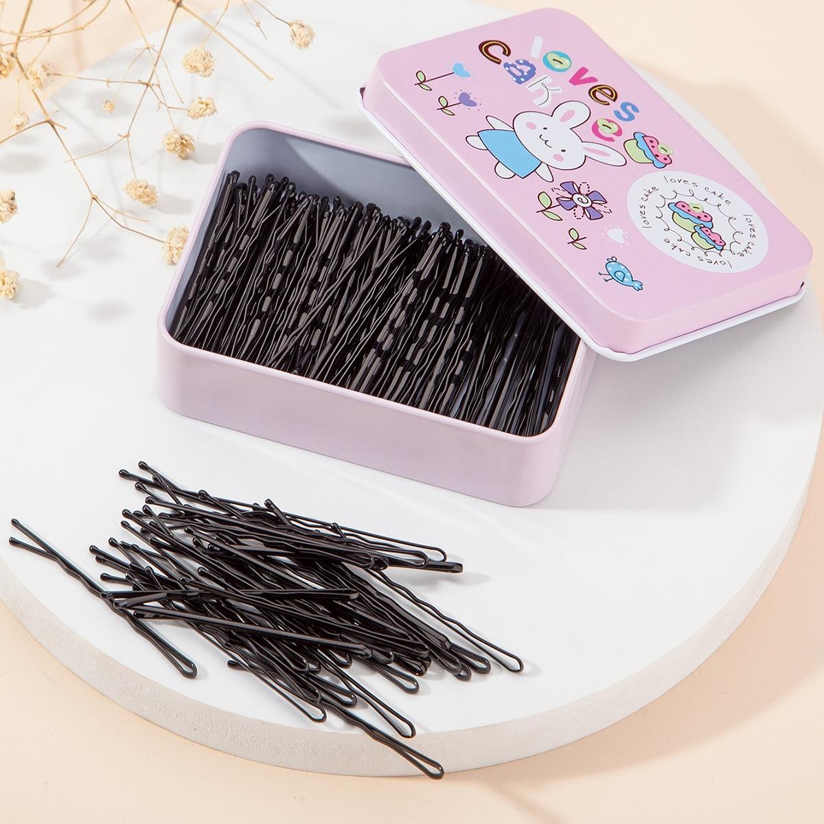 100шт заколка для волос и девочек