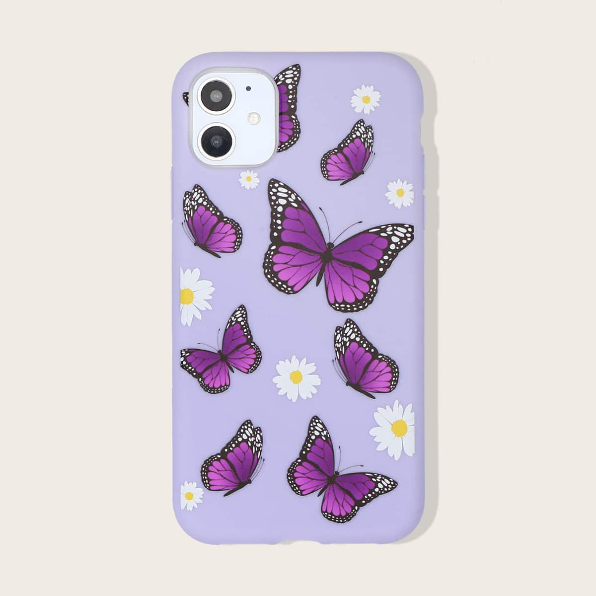 1шт чехол для iPhone с принтом бабочки фото