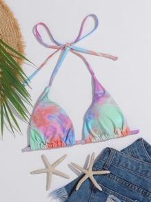 Triangle | Halter | Bikini | Dye | Tie | Top | Ty