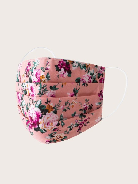 Ditsy Floral Pattern Face Mask