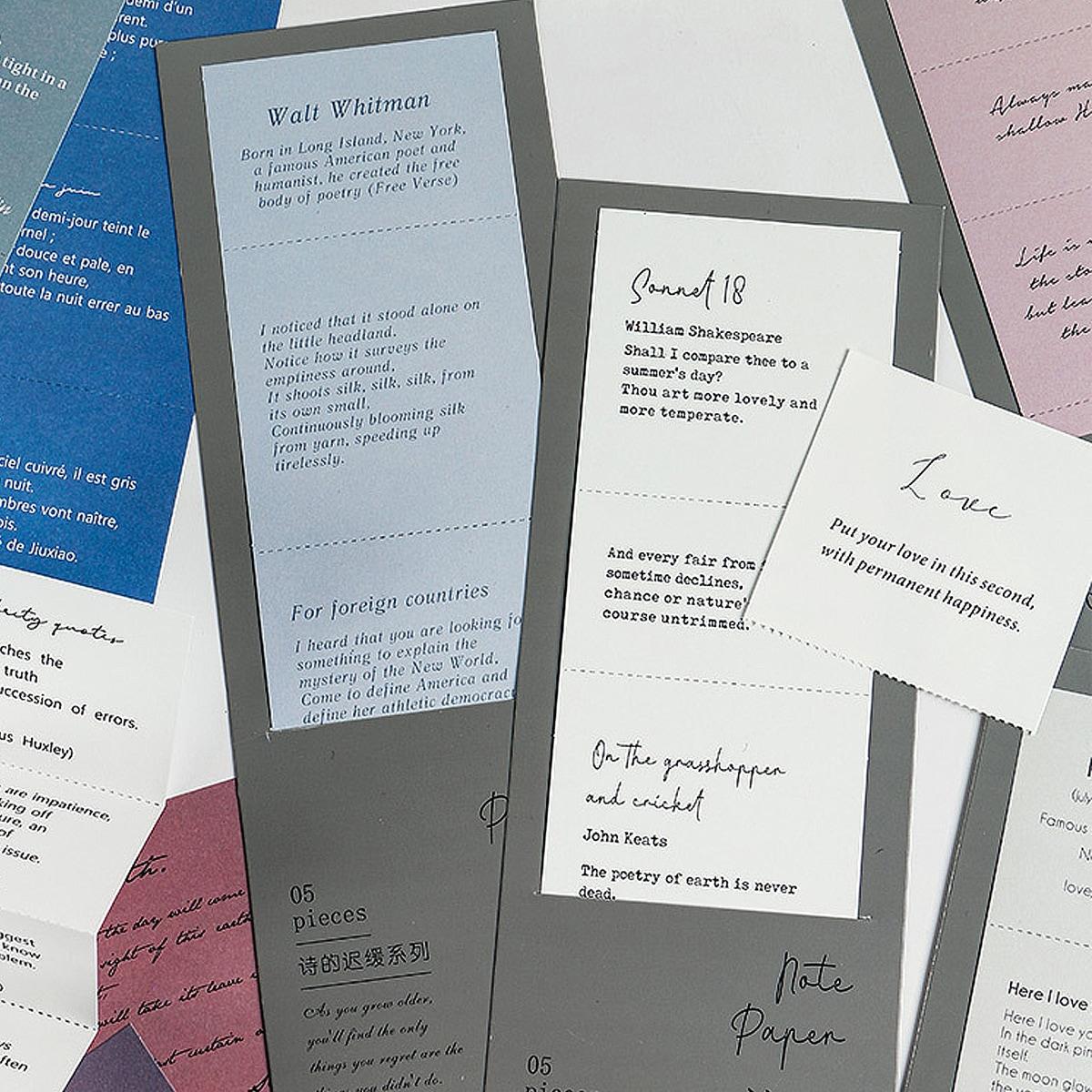 5 листов бумага материал случайного с текстовым принтом фото