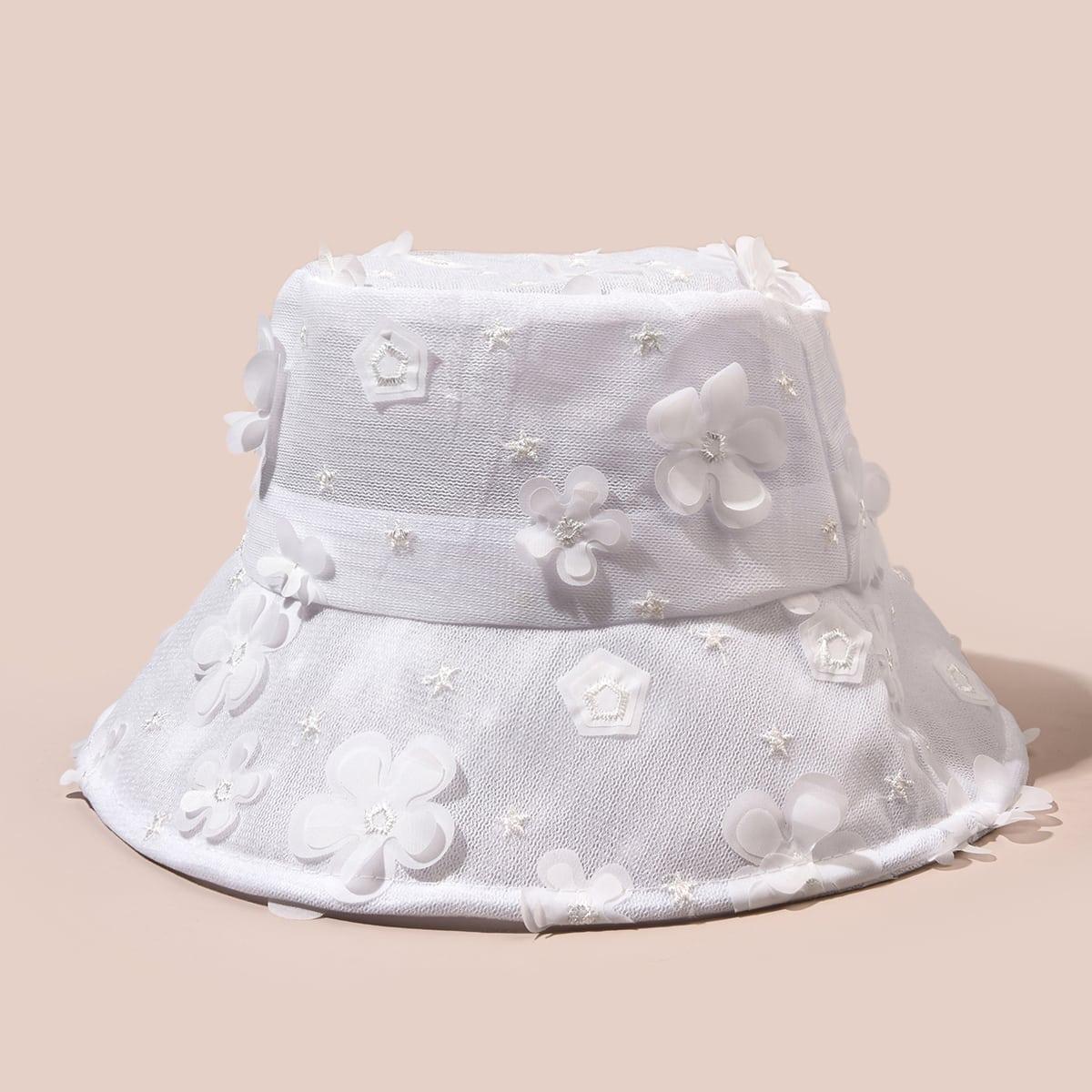 Шляпа с цветком фото