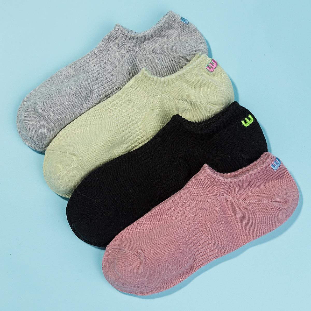Носки с вышивкой 4 пары фото
