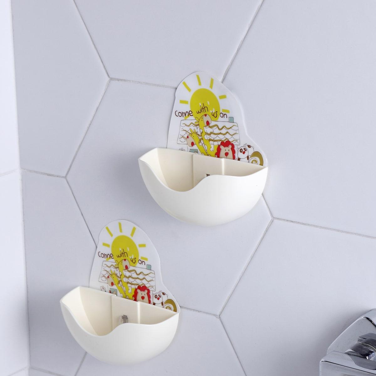 1шт держатель для мыла с мультяшным принтом фото