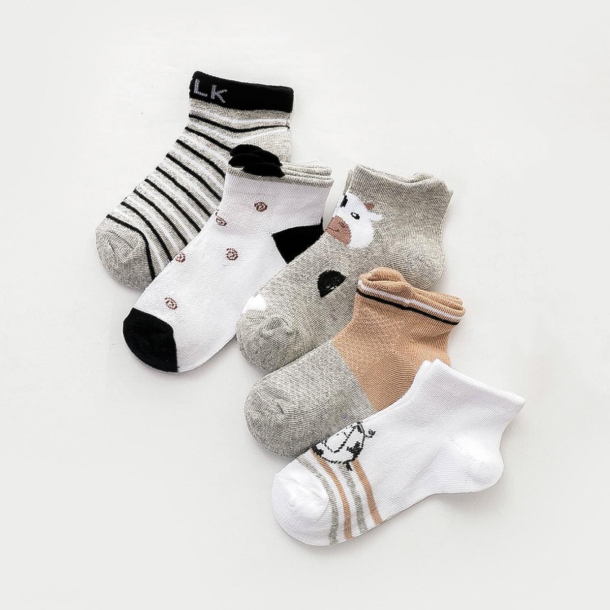 Носки в полоску для мальчиков 5 пар фото