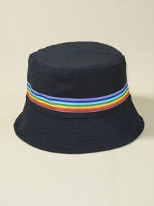 Rainbow | Bucket | Stripe | Hat | Men