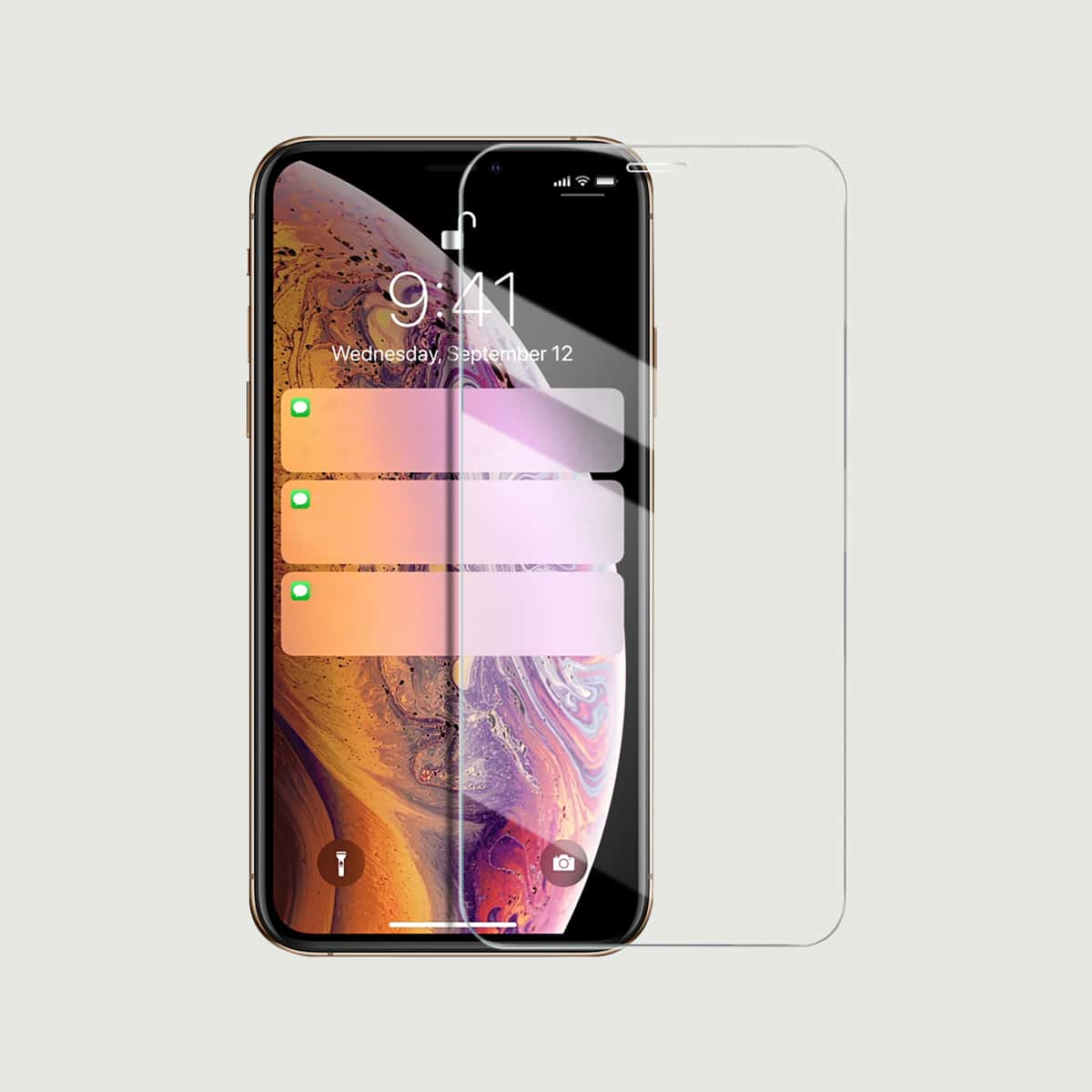 Защитная пленка для iPhone с полным покрытием фото