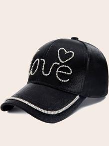 Rhinestone | Baseball | Engrave | Cap