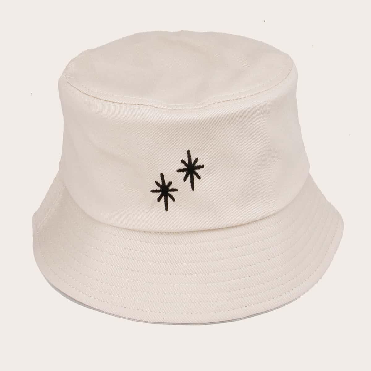 Мужская шляпа с вышивкой звезды фото