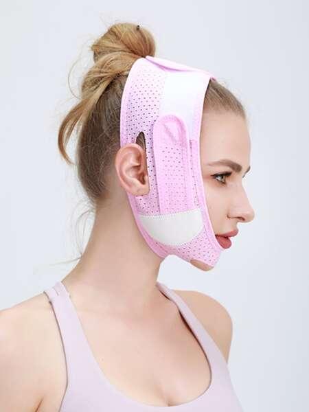 1pc Two Tone Facial Slimming Bandage