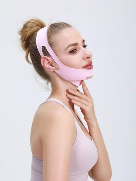 1pc Solid Facial Slimming Bandage