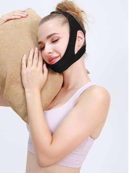 1pc Anti Snoring Triangular Chin Rest