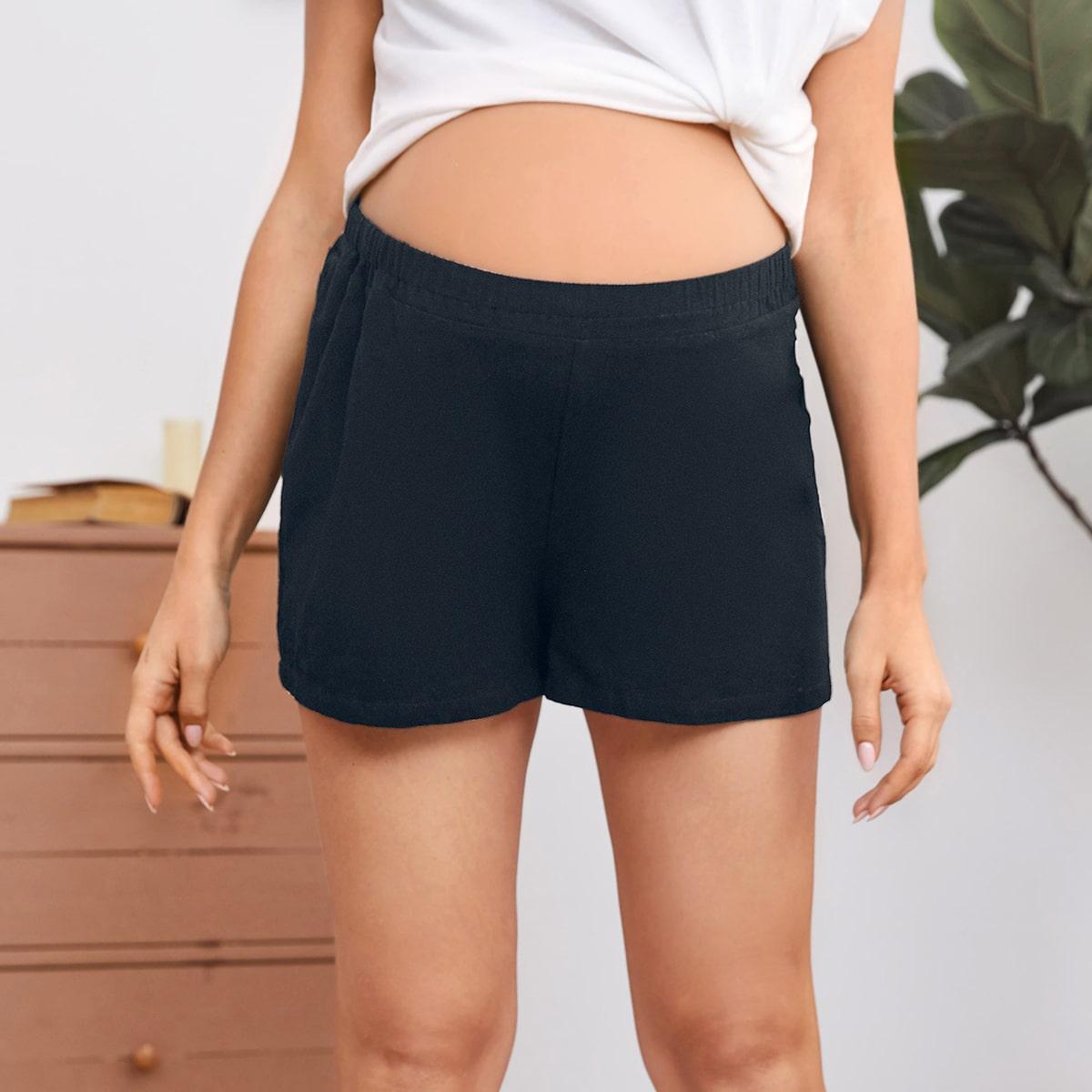 Широкие шорты для беременных от SHEIN