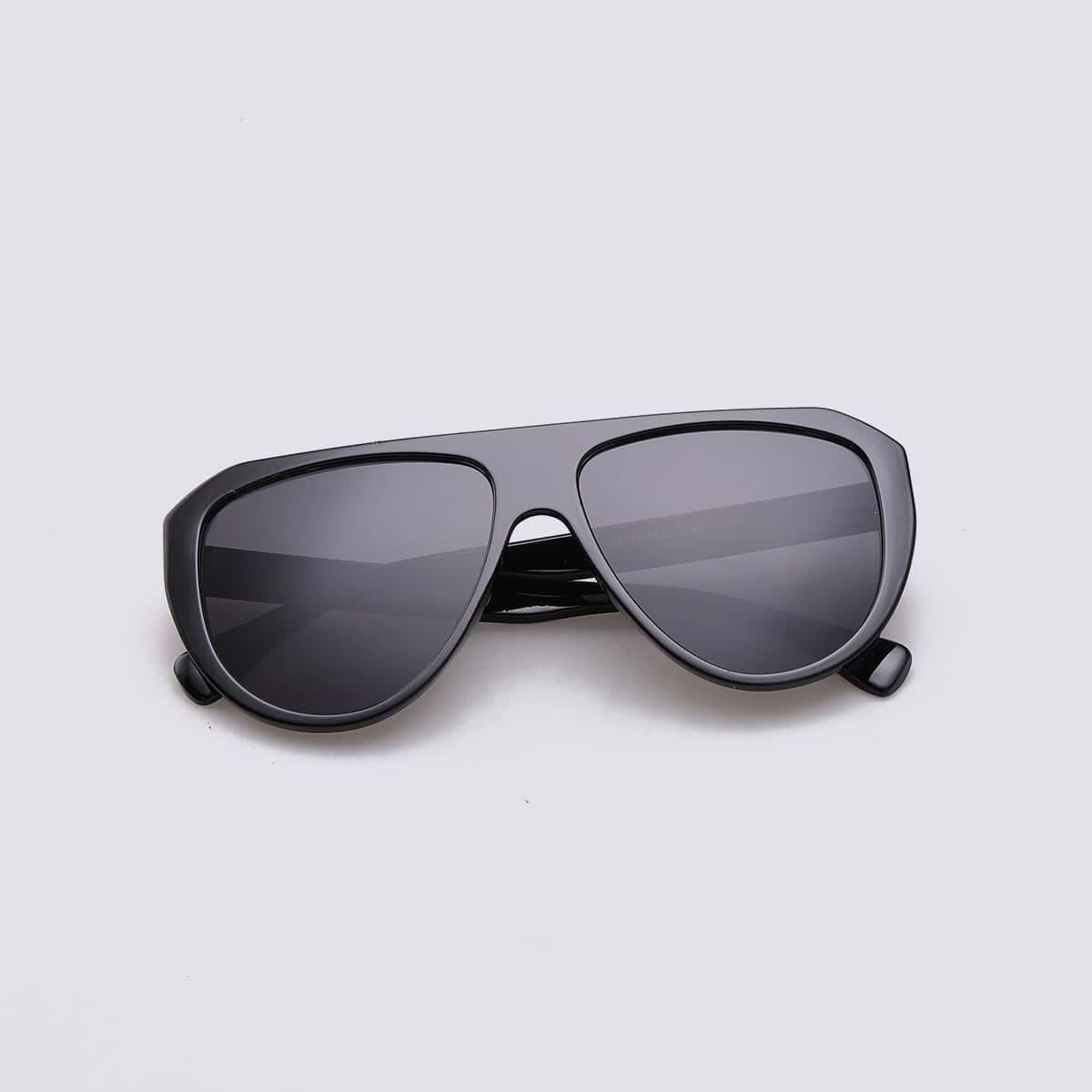 Мужские солнечные очки с плоским верхом фото