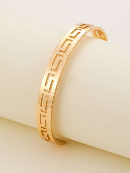 Hollow Out Cuff Bangle