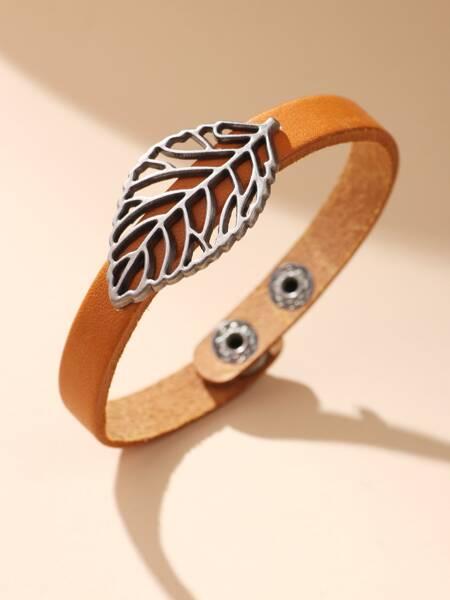 Leaf Decor Bracelet