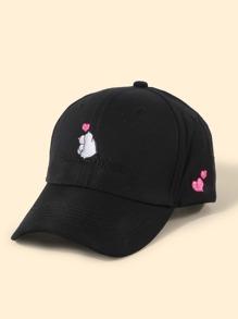 Embroider | Baseball | Heart | Cap | Men